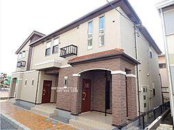 広島県福山市南蔵王町5の賃貸アパートの外観