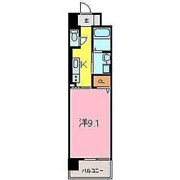 マンションM・K[2階]の間取り