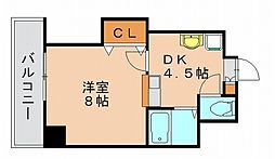 ドリームベイサイドII[4階]の間取り