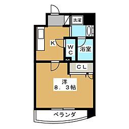 Sumika六角高倉[7階]の間取り