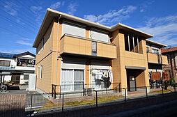 兵庫県姫路市網干区田井の賃貸アパートの外観