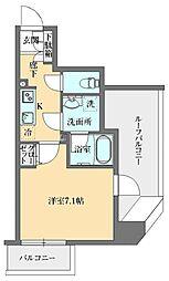 GRAN PASEO本郷三丁目(グランパセオ本郷三丁目) 12階1Kの間取り