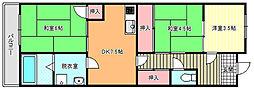 藤ハイツ[5階]の間取り