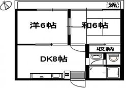 アメニクスM[3階]の間取り