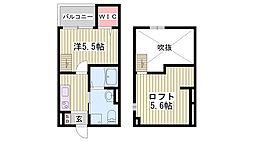 山陽電鉄本線 藤江駅 徒歩10分の賃貸アパート