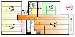 エクセレント都II[2階]の間取り