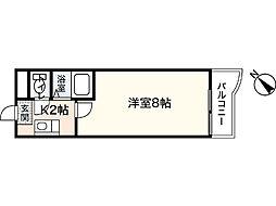 メゾンド長束[2階]の間取り