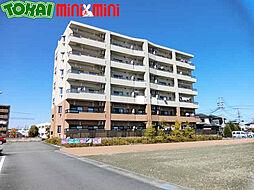 三重県松阪市石津町の賃貸マンションの外観