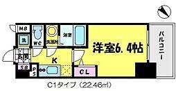 エスリード京橋 .[12階]の間取り