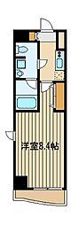スクエアシティ東京保谷 10階1Kの間取り