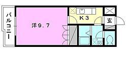 プランドール・カネキA棟[207 号室号室]の間取り
