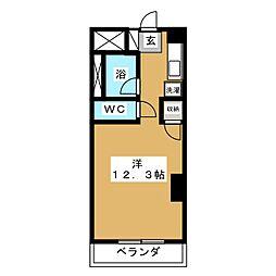 セントSGビル[4階]の間取り