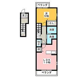 インノバール[2階]の間取り