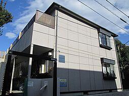 東京都世田谷区下馬6丁目の賃貸アパートの外観