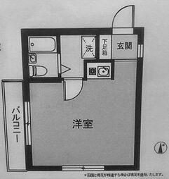 横浜反町ハイツ[203号室]の間取り