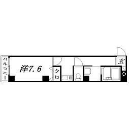 静岡県浜松市中区神明町の賃貸マンションの間取り