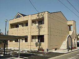 愛知県一宮市浅井町東浅井字北屋舗裏の賃貸アパートの外観