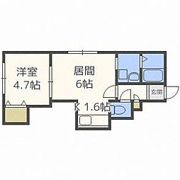 ハイムHi−liteII[2階]の間取り