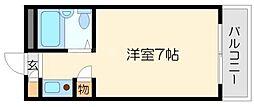 フルーレ小松[1階]の間取り