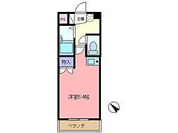 池田マンション[208号室]の間取り