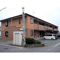 岐阜県羽島郡笠松町米野の賃貸アパートの外観