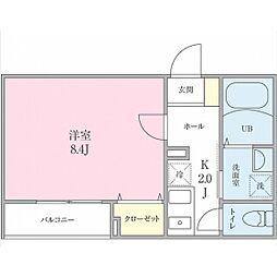 (仮称)船橋市海神町2丁目プロジェクト[102号室]の間取り