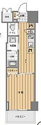 都営三田線 芝公園駅 徒歩8分の賃貸マンション 3階1DKの間取り