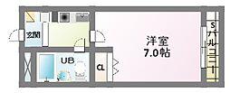 高橋ビル[5階]の間取り
