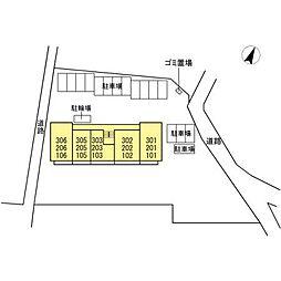 仮)D-room見付I期[2階]の外観