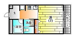 寶樹苑(ホウジュエン)[2階]の間取り
