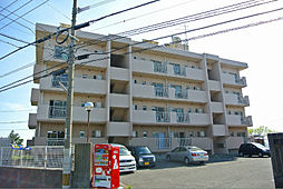 福岡県北九州市若松区高須西2丁目の賃貸マンションの外観