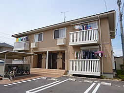 岡山県倉敷市東塚3の賃貸アパートの外観