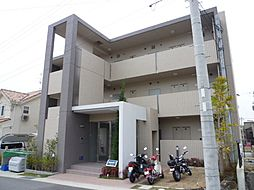 大阪府箕面市彩都粟生南1丁目の賃貸マンションの外観