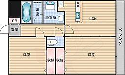 大国町駅 10.3万円