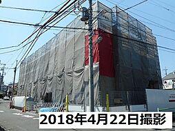東京都調布市多摩川3丁目の賃貸アパートの外観