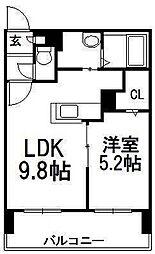 サンコート円山ガーデンヒルズ[6階]の間取り
