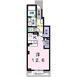 メゾン・ド・シェリュバンII[1階]の間取り
