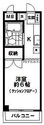 恵マンション(2F)[2階]の間取り