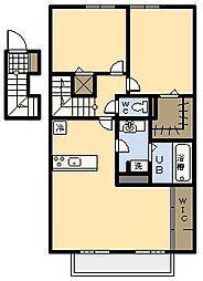 (新築)セジュール・アイII B棟[207号室]の間取り