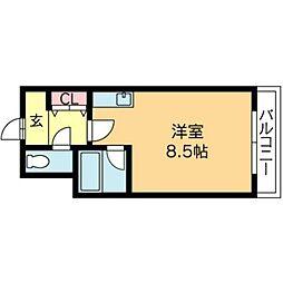 北海道札幌市北区北十八条西4丁目の賃貸マンションの間取り