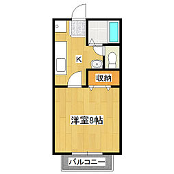 マイステージ37番館[2階]の間取り