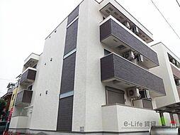 大阪府大阪市住吉区山之内4丁目の賃貸アパートの外観