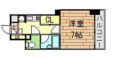 ライズィングサン[6階]の間取り
