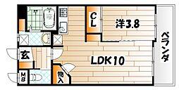 プルーム真鶴[12階]の間取り