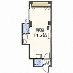 北海道札幌市中央区北三条西30丁目の賃貸マンションの間取り