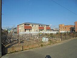 愛知県北名古屋市沖村山ノ神の賃貸アパートの外観