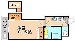 アクタス博多ステーションタワー[11階]の間取り