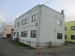 北海道千歳市住吉3丁目の賃貸アパートの外観