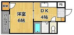 薬院相原ビル[3階]の間取り