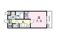東京都品川区二葉2丁目の賃貸マンションの間取り